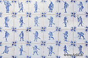 delft tile blue