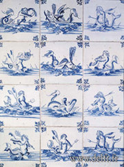 delftware blue